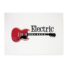 Electric 5'x7'Area Rug