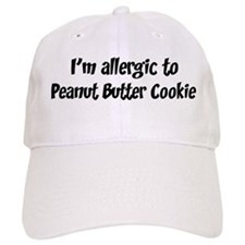 Allergic to Peanut Butter Coo Baseball Cap