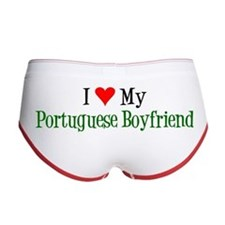 I Love My Portuguese Boyfriend Women's Boy Brief