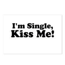 Im Single, Kiss Me! Postcards (Package of 8)