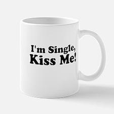 Im Single, Kiss Me! Mugs