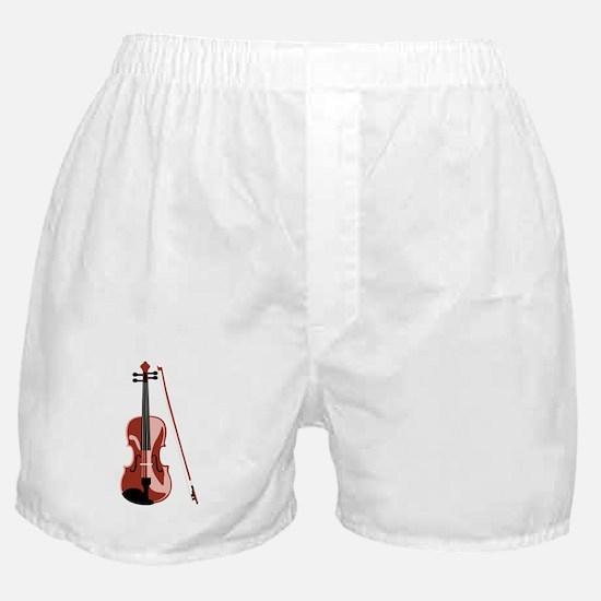 Violin and Bow Boxer Shorts