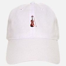 Violin and Bow Baseball Baseball Baseball Cap