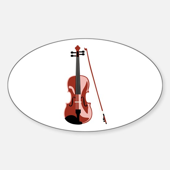 Violin and Bow Decal