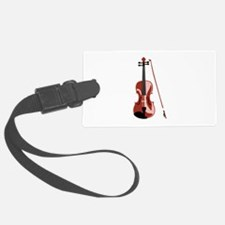 Violin and Bow Luggage Tag