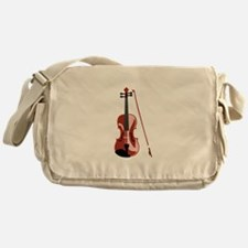 Violin and Bow Messenger Bag