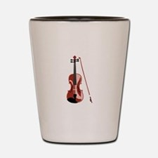 Violin and Bow Shot Glass