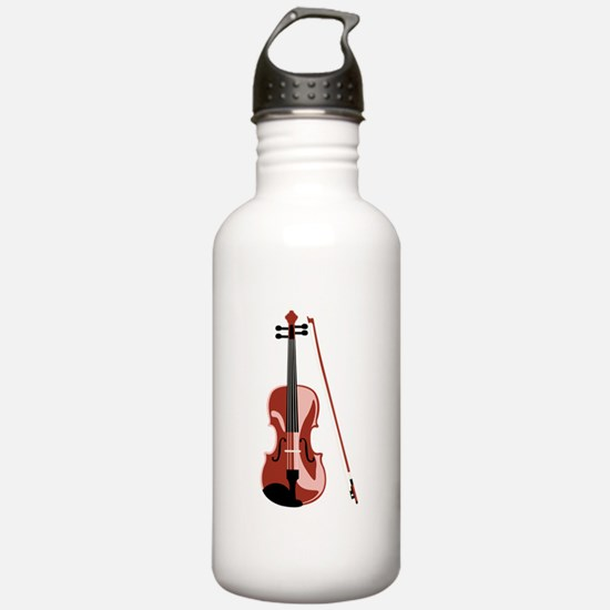 Violin and Bow Water Bottle