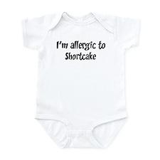 Allergic to Shortcake Infant Bodysuit
