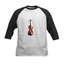 Violin and Bow Baseball Jersey