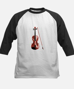 Violin and Bow Baseball Jersey