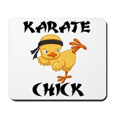 karate chick Mousepad