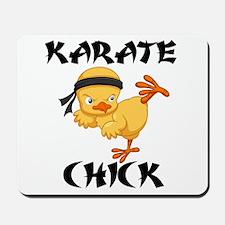 karate chick Mousepad