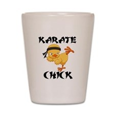 karate chick Shot Glass