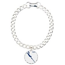 Logo 2 pescatore in apne Charm Bracelet, One Charm