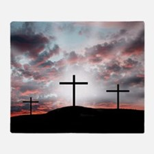 Sunrise Faith Throw Blanket