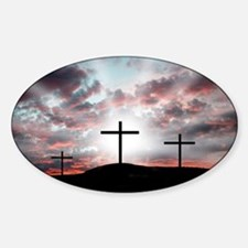 Sunrise Faith Sticker (Oval)