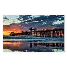 Oceanside Pier Decal