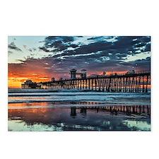 Oceanside Pier Postcards (Package of 8)