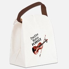 Practice Makes Perfect Canvas Lunch Bag