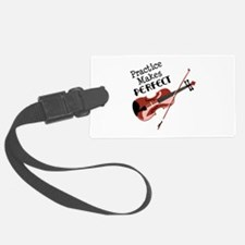 Practice Makes Perfect Luggage Tag