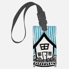 Happy House Luggage Tag
