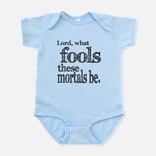 Mortal Fools Shakespeare Infant Bodysuit