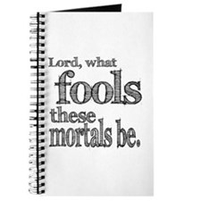 Mortal Fools Shakespeare Journal