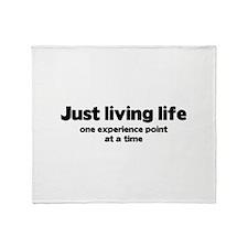 Just Living Life Stadium Blanket