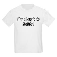 Allergic to Shellfish T-Shirt