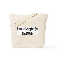 Allergic to Shellfish Tote Bag