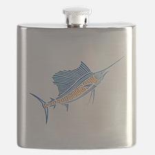 Tribal Sailfish Flask