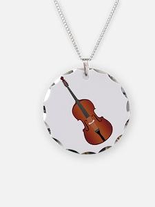Standup Bass Necklace