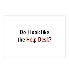 Do I Look Like The Help Desk? Postcards (Package o