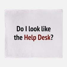 Do I Look Like The Help Desk? Stadium Blanket
