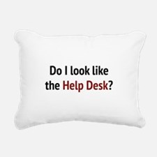 Do I Look Like The Help Desk? Rectangular Canvas P
