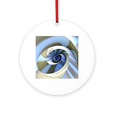 Multi-Swirl Round Ornament