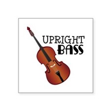 Upright Bass Sticker