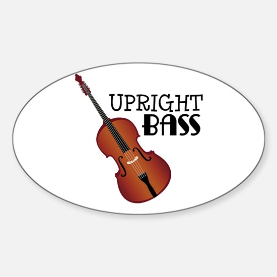 Upright Bass Decal