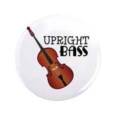 "Upright Bass 3.5"" Button"