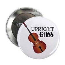 "Upright Bass 2.25"" Button"