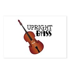 Upright Bass Postcards (Package of 8)