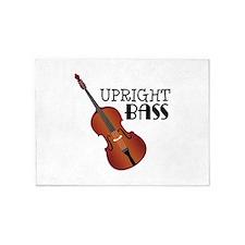 Upright Bass 5'x7'Area Rug