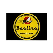 Beeline Gasoline Rectangle Magnet