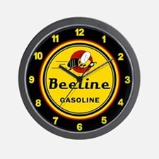 Beeline Gasoline Wall Clock