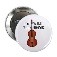 "Im With the Band 2.25"" Button"
