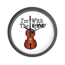 Im With the Band Wall Clock