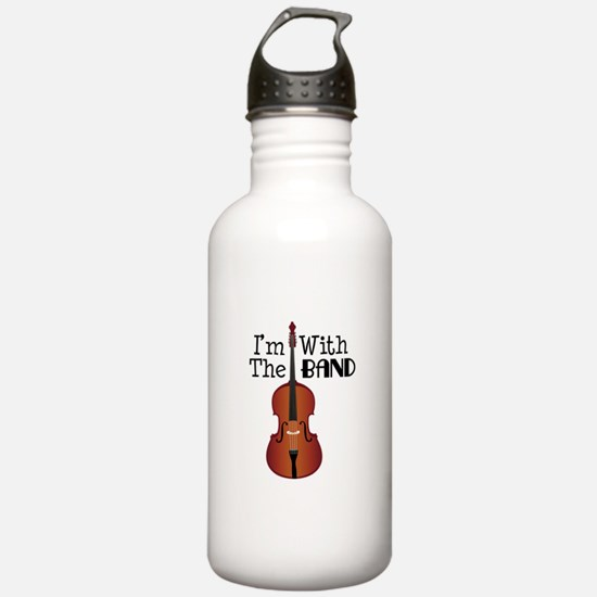 Im With the Band Water Bottle