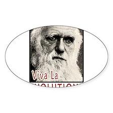 Darwin - Viva La Evolution! Decal