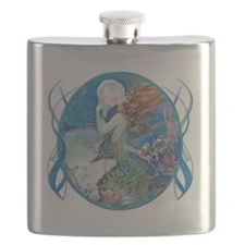 Clive Sensual Erotic Pearl Mermaid Flask